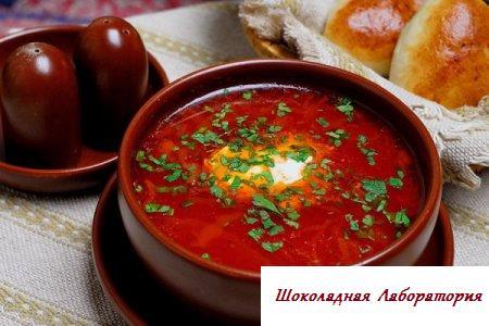 бездушный суп. свекольник. рецепт. фото.