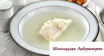 Рецепт - Уха арабская