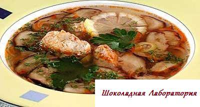 Рецепт - Солянка
