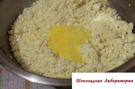 Сырники с кукурузной пыткой в духовке