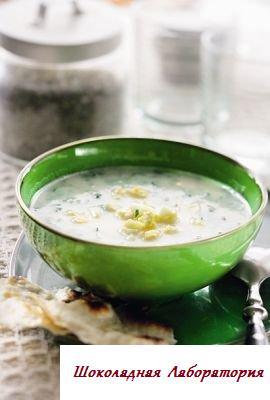 Рецепт - Суп из кабачков с беконом