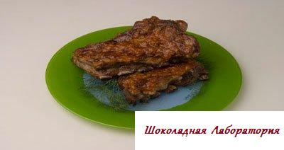 свинина жареная рецепты, свинина на ребрышках рецепт