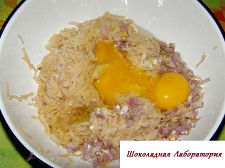 Рецепт - Картофельные драники
