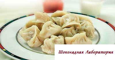 Рецепт - Пельмени с грибами либо рыбой