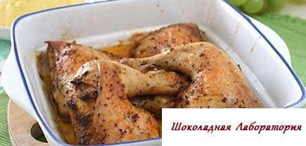 Рецепт - Курица в пиве