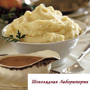 Рецепт - Картофельное пюре