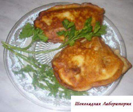 Мясо в сырно-майонезной корочке