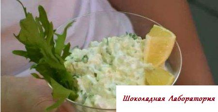 Салат из морской рыбы
