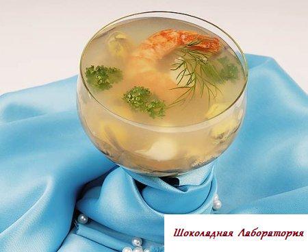 салат из морепродуктов рецепт с фото легкий рецепт