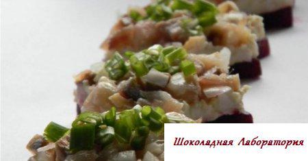 Рецепт закуски из сельди