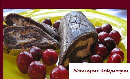 Рецепт шоколадного рулета
