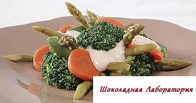Рецепт - Итальянский овощной салат
