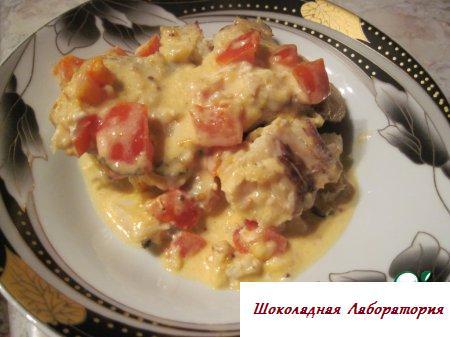 рецепт приготовления рыбы по гречески