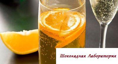 Рецепт - Чайный крюшон с шампанским