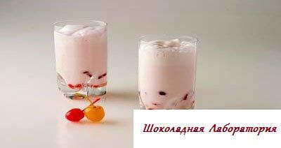Рецепт - Коктейль Вишневый