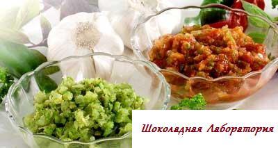Рецепт - Аджика зеленоватая