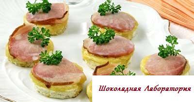 Рецепт - Сырные тосты