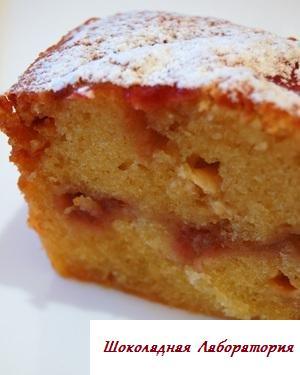 Рецепт - Ревеневый кекс