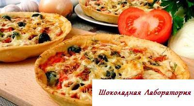 Пицца рецепт с маргарином