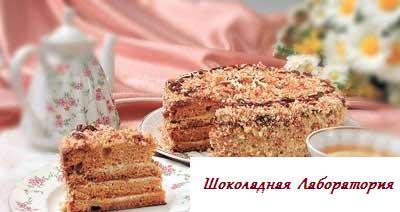 Рецепт - Тортик Медовик