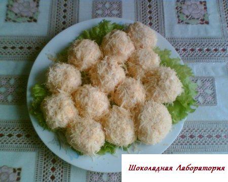 """Рецепт - Салат  """"Райское наслаждение"""", салаты на новейший год 2010"""