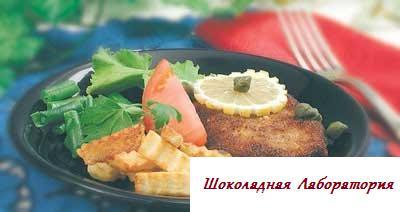 рецепты телятины фото из украины, шницель рецепт, лакомый рецепт из телятины, фото рецепт блюда из телятины