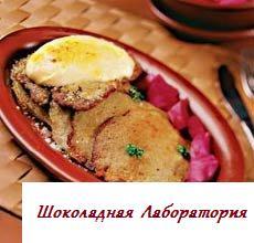 Рецепт - Драники, запеченные со свининой