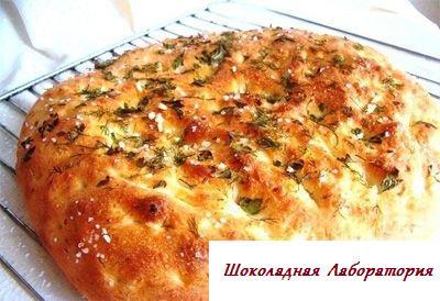 Рецепт - Картофельная фокачча