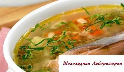 Рецепт - Уха рассольная Новорогожская