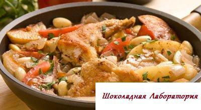 Рецепт - Зайчик в миндальном соусе