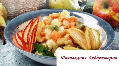 Рецепт - Винегрет с плодами